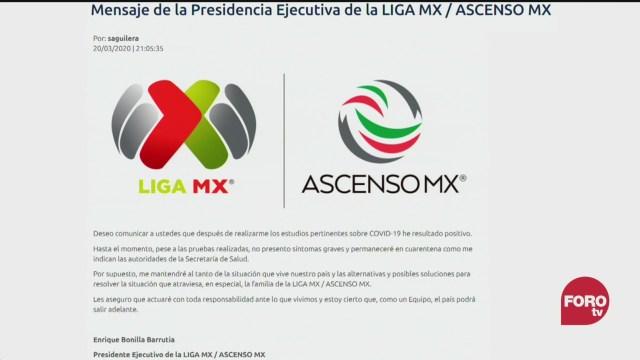 Foto: Presidente Liga Mx Da Positivo Coronavirus COVID19 20 Marzo 2020