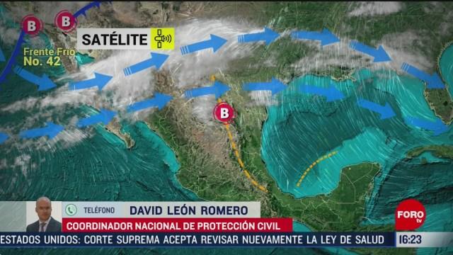 FOTO: proteccion civil alerta por bajas temperaturas al norte de mexico