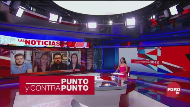 Foto:Punto y Contrapunto, Genaro Lozano Programa 25 Marzo 2020