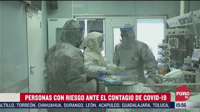 FOTO: que sector de la poblacion es mas propenso a contagiarse de coronavirus