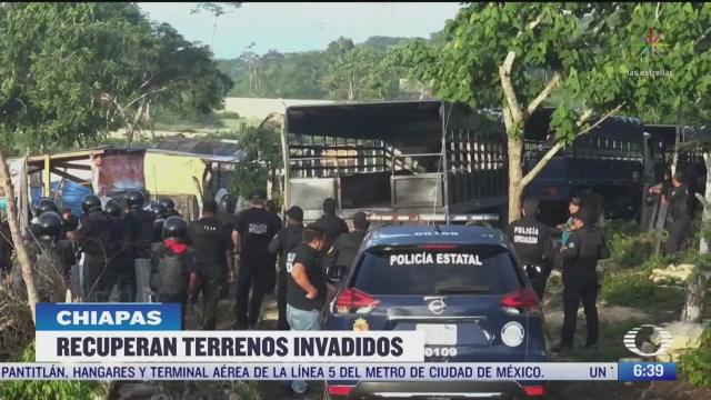 recuperan en chiapas mil 293 hectareas invadidas en reserva ecologica