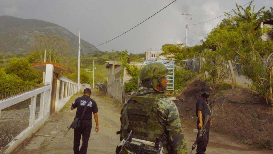 Refuerzan seguridad en sierra Guerrero tras enfrentamientos