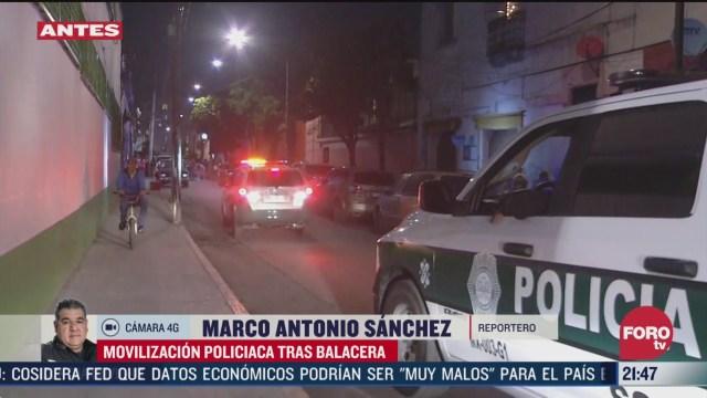 Foto: Balacera Barrio Tepito CDMX Hoy un Muerto 31 Marzo 2020