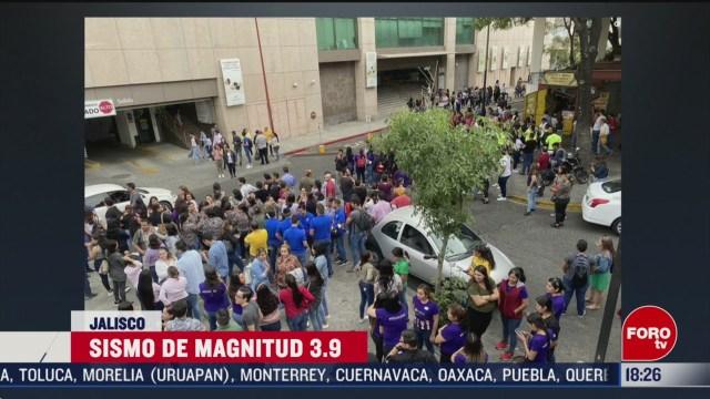 FOTO: reportan como un brinco sismo de magnitud 3 9 en jalisco