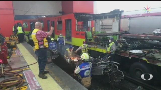 Foto: Peritajes Choque Metro Tacubaya Entregarán Siguiente Semana 12 Marzo 2020
