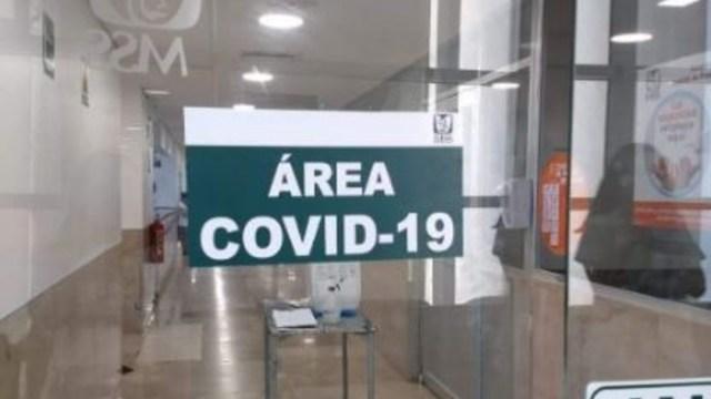 Foto: Pasillos de un hospital en México durante la contigencia por coronavirus COVID-19