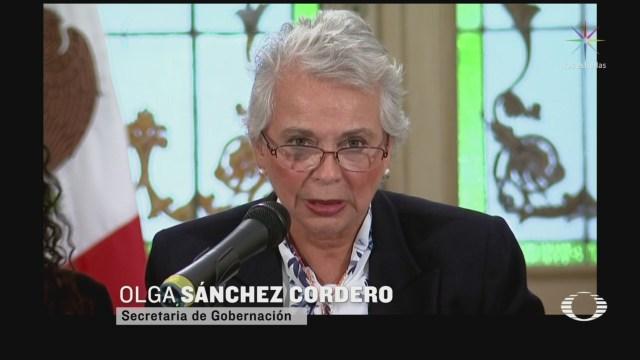 Foto: Sánchez Cordero Informe Mensual Defensa Mujeres Niñas 5 Marzo 2020