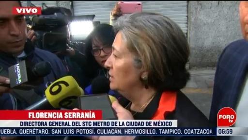 se realizan trabajos para restablecer el servicio en la linea 1 dice directora del metro cdmx