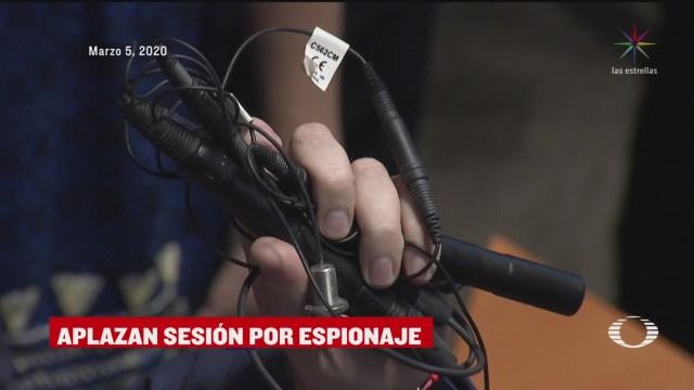 Foto: Senado Cancela Sesión Denuncia Espionaje Continúa 10 Marzo 2020