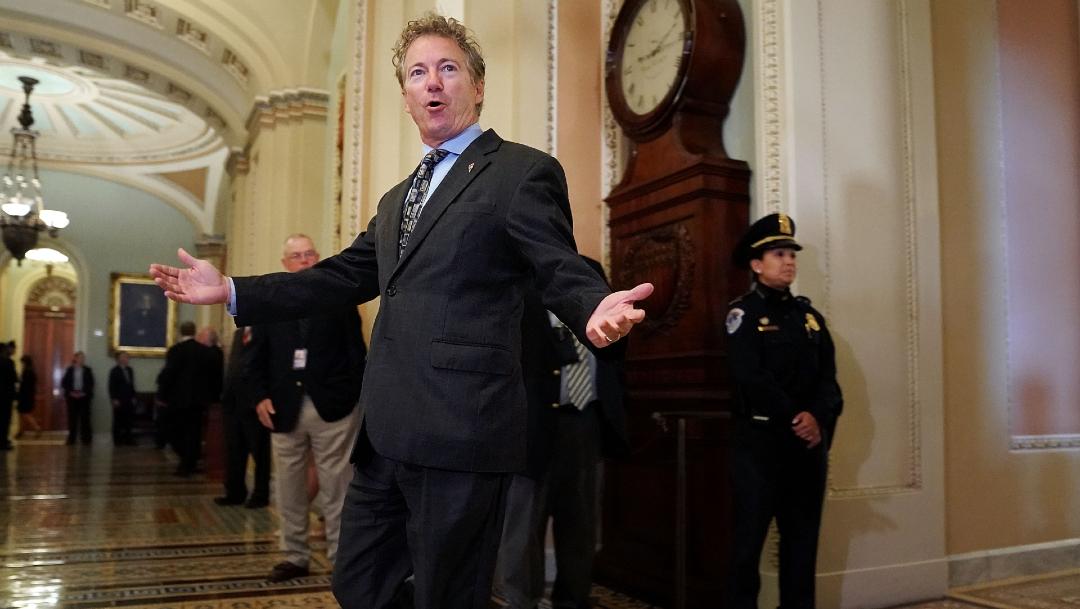 FOTO: Senador republicano Rand Paul informa que tiene coronavirus, el 22 de marzo de 2020