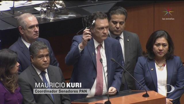 Foto: Senadores Pan Denuncian Espionaje 5 Marzo 2020