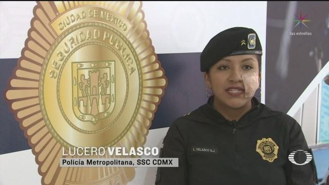 Foto: Policías Lesionadas Durante Marcha Día Internacional Mujer 10 Marzo 2020