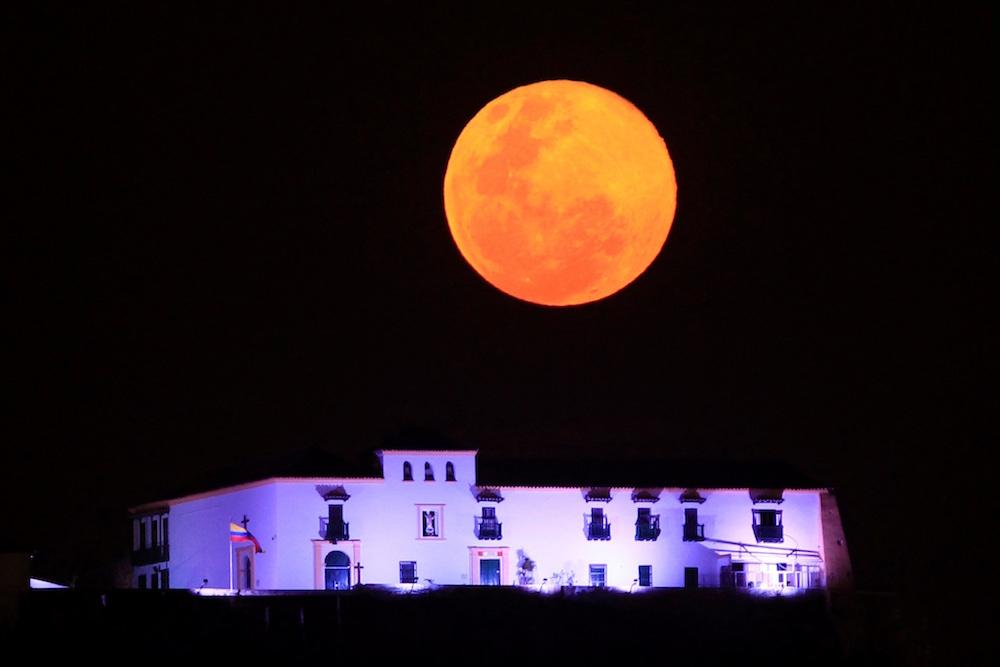Fotogalería: Así se vio la superluna de 'gusano' 10 marzo 2020