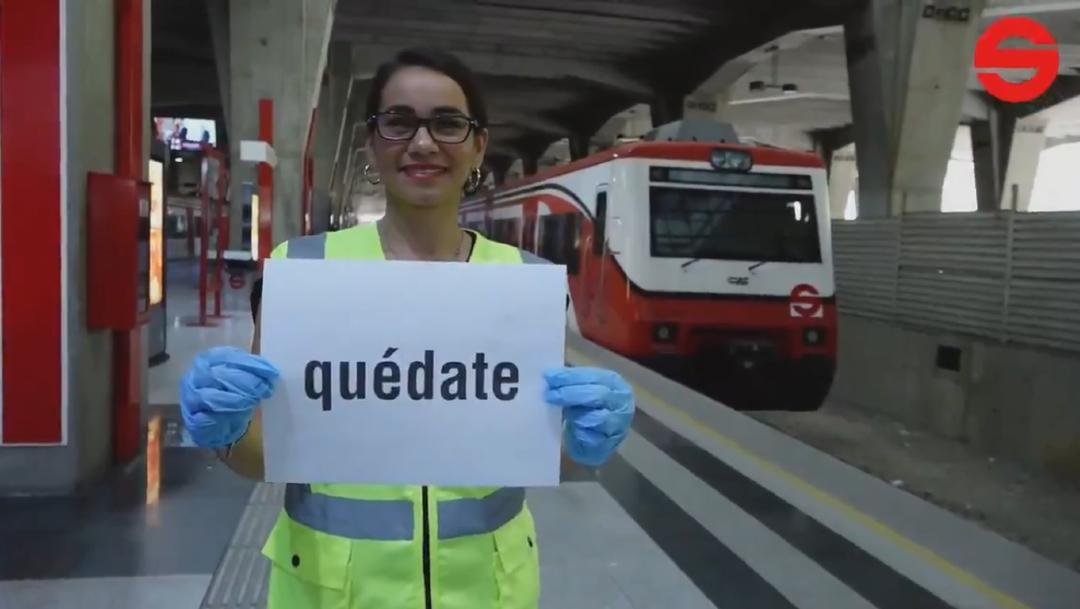 Foto: Tren Suburbano se suma a petición de quedarse en casa para frenar coronavirus, 26 marzo 2020