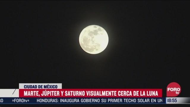 FOTO: triple conjuncion el fenomeno astronomico que ocurrira esta noche