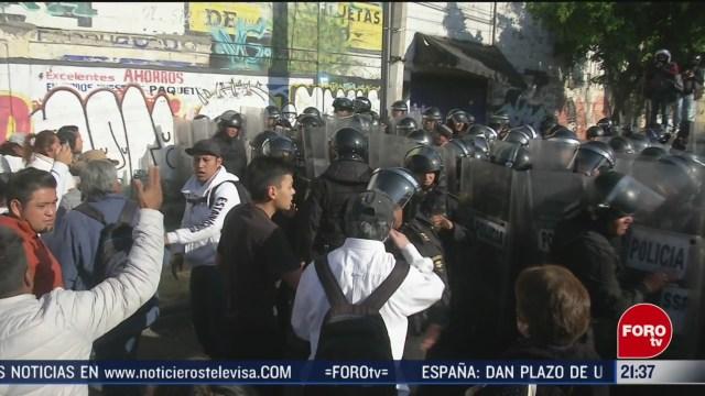 Foto: Vecinos Tláhuac Protestan Falta De Agua Hoy 17 Marzo 2020