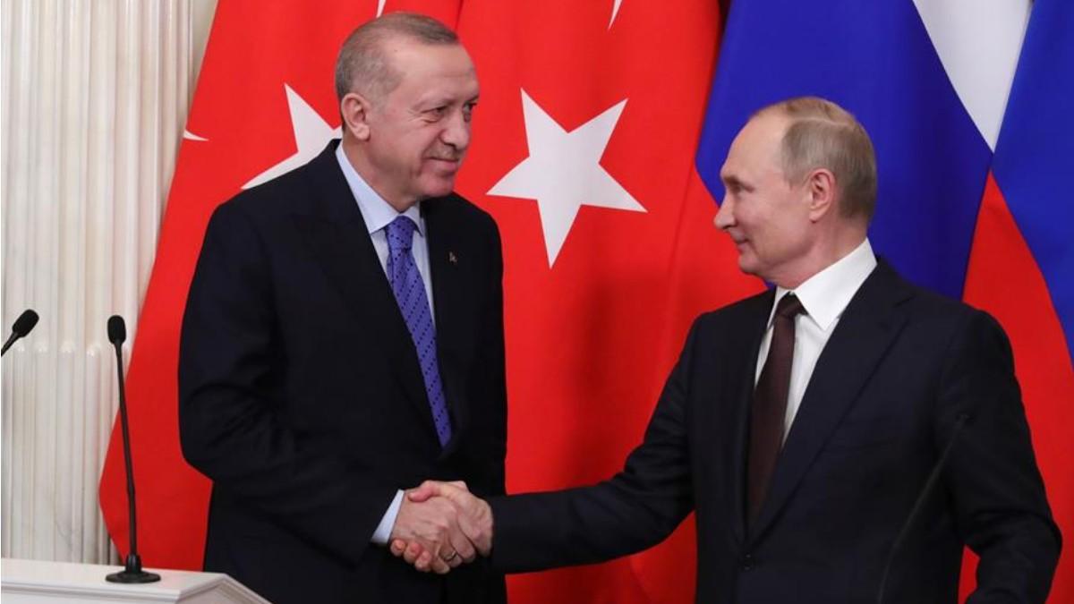 Putin y Erdogan acuerdan alto el fuego en Siria