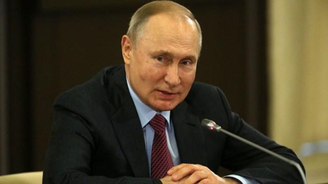Foto: El presidente de Rusia, Vladimir Putin, 14 marzo 2020