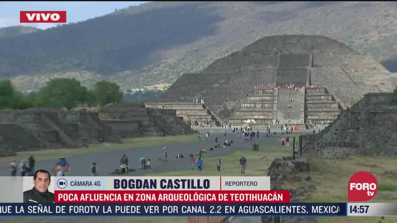 FOTO: zona arqueologica de teotihuacan registra poca afluencia por coronavirus