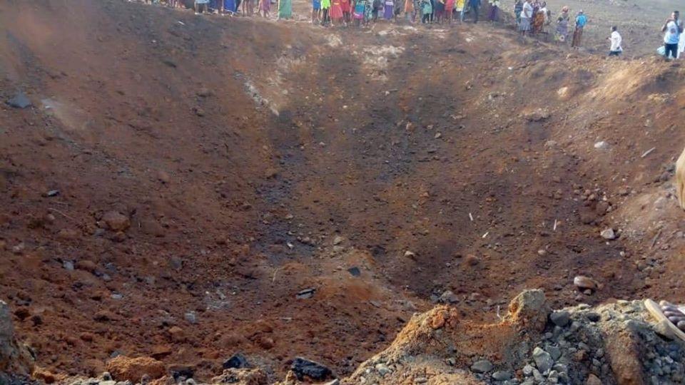 Galería: Presunto 'meteorito' cae en Nigeria y deja un inmenso cráter