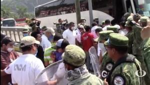 Abandonan a 400 migrantes centroamericanos en Chiapas