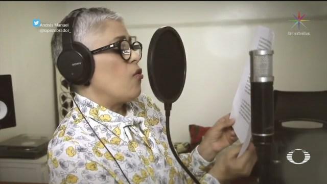 Foto: AMLO comparte canción, escrita por su esposa, sobre retos que México enfrenta 9 Abril 2020