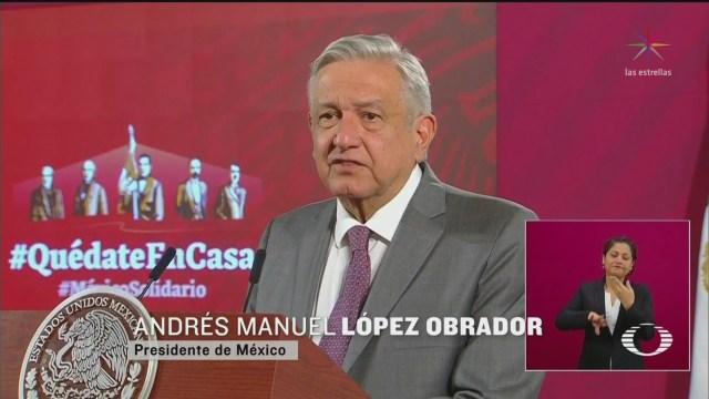 Foto: Amlo Plan Para Crisis Económica Por Coronavirus México 22 Abril 2020