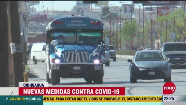 FOTO:19 de abril 2020, anuncian nuevas medidas para enfrentar el coronavirus en chihuahua