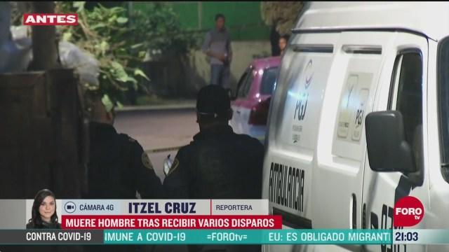 FOTO:19 de abril 2020, ataque armado deja un muerto en tlalpan cdmx