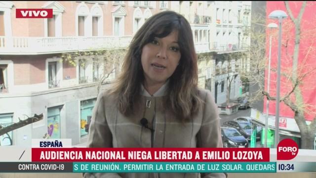 audiencia nacional niega libertad a emilio lozoya