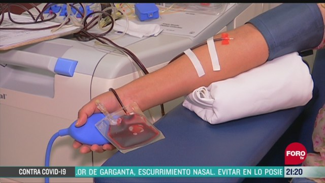 Foto: Coronavirus Donadores Sangre Pandemia Covid19 Disminuyen Hospital Juárez México 17 Abril 2020