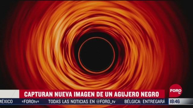 FOTO: captan nueva imagen de un agujero negro