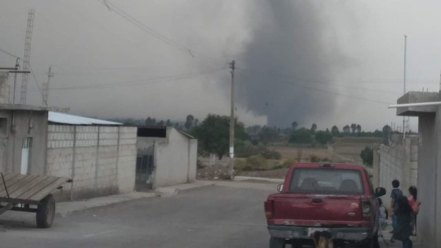 Captan tornado en límites de Puebla y Tlaxcala