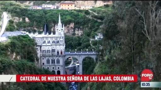 catedrales del mundo catedral de nuestra senora de las lajas colombia