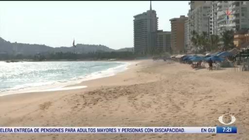 cierran playas en guerrero por coronavirus