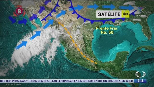 clima al aire lluvias de aguanieve en baja california
