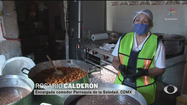 Foto: Coronavirus Comedor Centro Cdmx Ofrece Alimento Gratis 13 Abril 2020