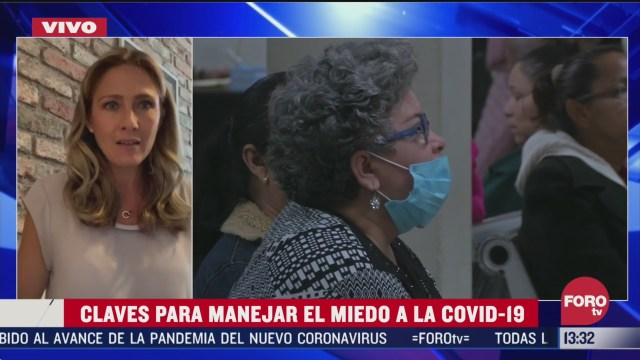 FOTO: como manejar el miedo al coronavirus