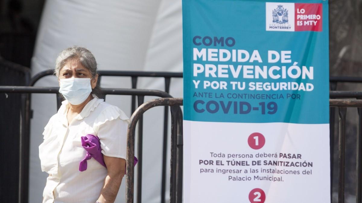 Nuevo León suma tres fallecimientos por COVID-19; uno venía de Monclova