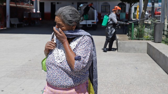 FOTO: Puebla suma 267 casos de coronavirus y una defunción, el 13 de abril de 2020