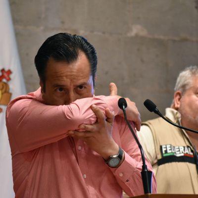 Foto: Prohíben a la población ir a la playa en Veracruz por coronavirus, 2 de abril de 2020, (Cuartoscuro)