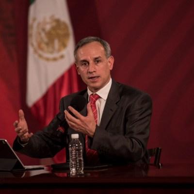 Uso de cubrebocas no debe sustituir el 'quédate en casa', afirma López-Gatell