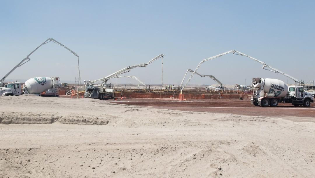 Foto: Continúa construcción del aeropuerto de Santa Lucía, anuncia Gobierno de AMLO