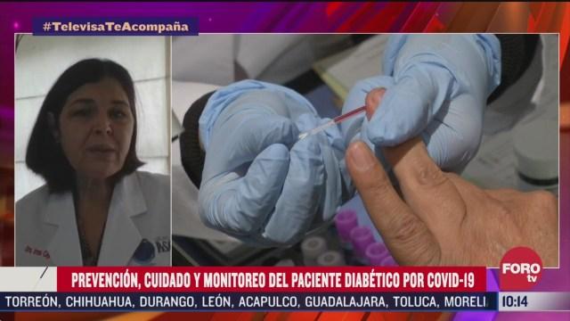 FOTO: 4 de abril 2020, cuidados para un paciente diabetico durante la contingencia por coronavirus
