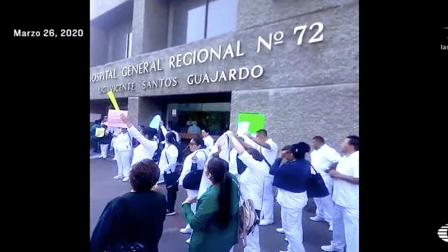 Coronavirus: Dan positivo 20 médicos del IMSS Tlalnepantla