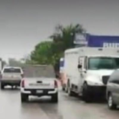 FOTO: Matan a siete hombres tras ataque a depósito de cervezas en Reynosa, Tamapulipas, el 5 de abril de 2020