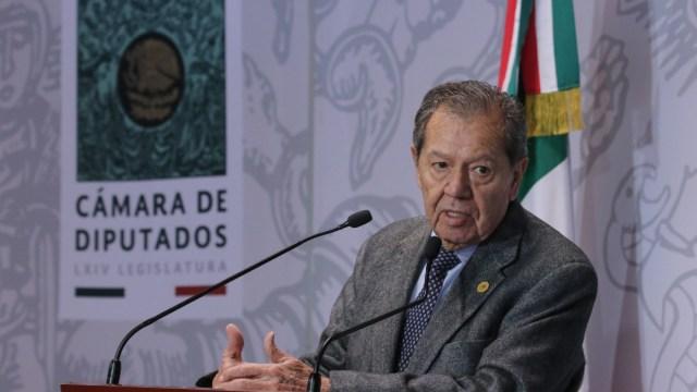 """FOTO: Sin """"grandes decisiones"""", la 4T quedará en terapia intensiva: Muñoz Ledo, el 4 de abril de 2020"""
