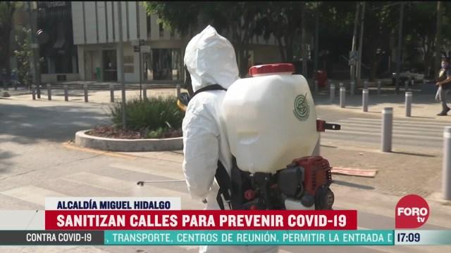 FOTO: disminuye 97 actividad comercial en polanco por coronavirus