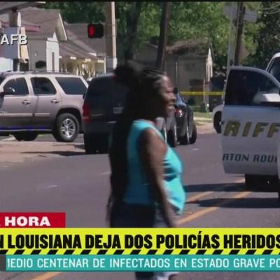 Muere policía tras tiroteo en Baton Rouge, Luisiana
