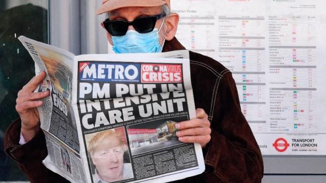 Foto: Reino Unido registra 786 muertos por coronavirus, su máximo en un día